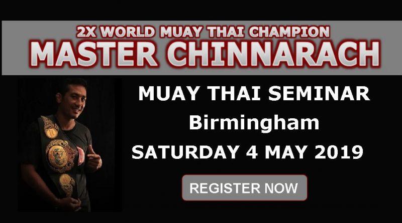 Master Chin Seminar