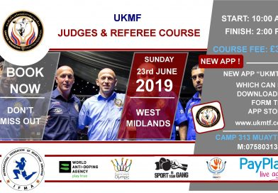 UKMF Judging & Referee Course