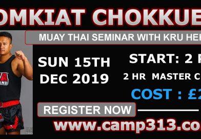 Kru Hehm – Somkiat Chokkuea Seminar